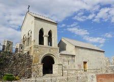 Akhaltsikhe Rabati kasztelu kościół zdjęcie stock