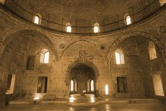 Akhaltsikhe Rabati kasztelu meczet Inside obraz stock