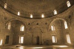 Akhaltsikhe Rabati kasztelu meczetu Mihrab obrazy stock