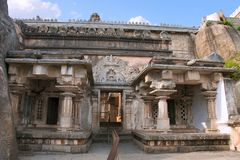 Akhanda Bagilu, Hill Vindhyagiri, Shravanbelgola, Karnataka Στοκ εικόνες με δικαίωμα ελεύθερης χρήσης