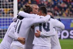 Šakhtar contro il Real Madrid Lega di campioni di UEFA 2015-2016 stagioni Immagine Stock