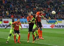 Šakhtar del gioco della lega di europa dell'UEFA contro Anderlecht Fotografia Stock Libera da Diritti