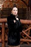 żakieta futerka kobieta Fotografia Stock