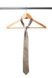 żakieta wieszaka krawat Zdjęcia Royalty Free