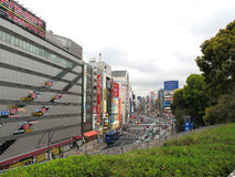 akihabara电子东京城镇 库存图片
