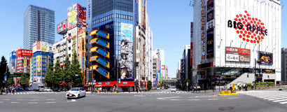 Akihabara. Is heaven for Manga & Anime lovers. It`s a fun place to explore your imagination world Stock Photos