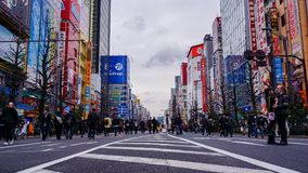 Shopping Season in Akihabara, Japan. royalty free stock photography