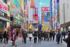 akihabara japan tokyo Royaltyfri Fotografi