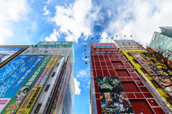 Akihabara område i tokyo Royaltyfri Foto