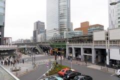 Akihabara område, Tokyo, Japan. Arkivbild