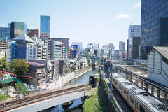 Akihabara Staion på April 27, 2013 Royaltyfri Fotografi