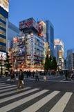 Akihabara, Tokyo, Japan. Tokyo, Japan - May 14, 2017: Many people are walking along the street in Akihabara area when the road is closed for Kanda Matsuri Stock Image