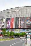 Akihabara, Tokyo, Japan. Tokyo, Japan - May 14, 2017: Yodobashi-akiba, huge electronic store, is seen from the street in Akihabara area, Tokyo, Japan Royalty Free Stock Photo