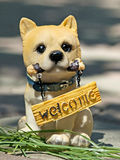 Akita Inu figurine Royalty Free Stock Photo
