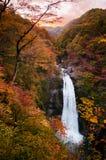 Akiu Waterfall, Akiu Otaki stock photo