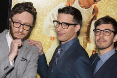 Akiva Schaffer, Andy Samberg and Jorma Taccone Royalty Free Stock Images
