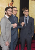 Akiva Schaffer, Andy Samberg and Jorma Taccone Stock Photography