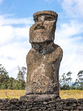 The Akivi Moai Royalty Free Stock Image