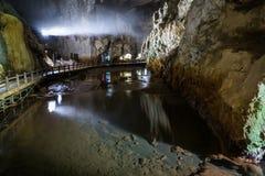 Akiyoshi Cave Entrance Chamber, Japan royalty-vrije stock fotografie