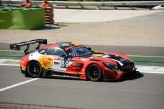 Akka asp Mercedes-AMG GT3 à Monza Photo libre de droits