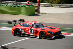 Akka asp Mercedes-AMG GT3 à Monza Images stock
