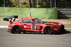 Akka asp Mercedes-AMG GT3 à Monza Photographie stock libre de droits