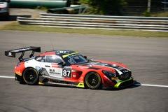 Akka asp Mercedes-AMG GT3 a Monza Immagine Stock