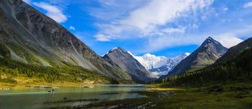 Akkem jezioro Fotografia Stock