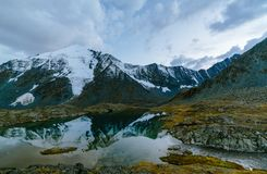 Akkem-Tal im Altai-Gebirgsnaturpark Stockfoto