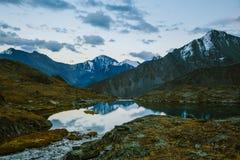Akkem-Tal im Altai-Gebirgsnaturpark Lizenzfreie Stockfotografie