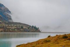 Akkem-Tal im Altai-Gebirgsnaturpark Lizenzfreie Stockbilder