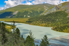 Akkem Valley. Altai. Russia Stock Photo