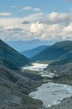 Akkem Valley. Russia Stock Photo