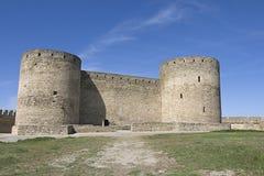 akkerman堡垒乌克兰 库存图片
