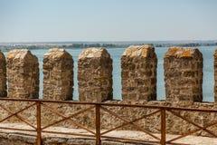 Akkerman Bilhorod-Dnistrovskyi fortress in Ukraine. Medieval castle. royalty free stock photos