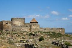 Akkerman fortress. In Bilhorod-Dnistrovskyi. Ukraine stock photos