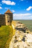 Akkerman fortress, Belgorod-Dnestrovsky, Ukraine. Akkerman fortress in Belgorod-Dnestrovsky, Ukraine. Sunny summer day Royalty Free Stock Images