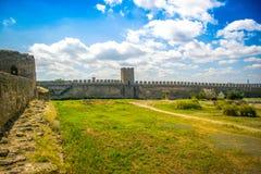 Akkerman fortress, Belgorod-Dnestrovsky, Ukraine. Akkerman fortress in Belgorod-Dnestrovsky, Ukraine. Sunny summer day Stock Image