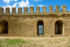 The Akkerman Fortress is a historical and architectural monument. royalty free stock photography