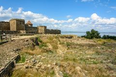 The Akkerman Fortress is a historical and architectural monument. stock photo