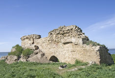 Akkerman fortress in Ukraine Stock Photography