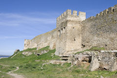 Akkerman fortress in Ukraine Royalty Free Stock Photo