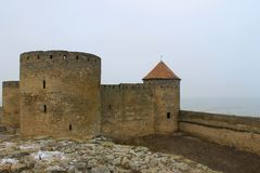 Akkerman fortress in Ukraine Stock Photo