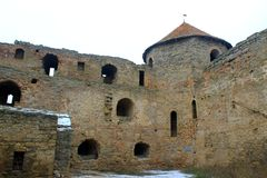 Akkerman fortress in Ukraine Royalty Free Stock Images