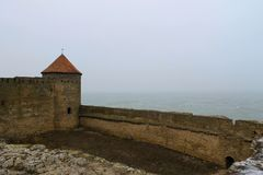 Akkerman fortress in Ukraine Royalty Free Stock Images