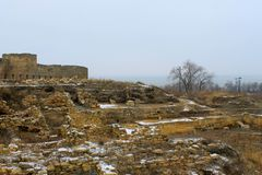 Akkerman fortress in Ukraine Royalty Free Stock Photos