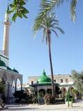 Akko El-Jazzr Mosque minaret 2003 Royalty Free Stock Photography