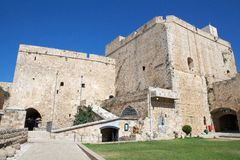 Akko fortress Royalty Free Stock Image