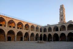 Akko Israel. Ottoman landmark building - Han El-Umdan in Akko,  Israel Stock Photo