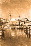 Akko Israel. Retro look of the Orient - Akko in Israel Royalty Free Stock Image